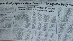 former sapulpa principal sheds light on district problems