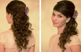 prom hairstyles updos for long hair quick side updo for prom or