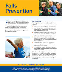 national council of aging falls prevention fact sheet preventing