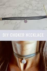 diy pendant choker necklace images Diy layered choker necklace with pendant very easy to make png