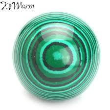 kiwarm sale 50mm synthetic malachite green gemstone