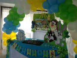 baby looney tunes baby shower decorations baby looney tunes baby shower party ideas photo 8 of 34 catch