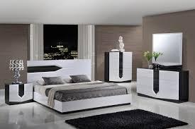 Modern White Furniture Bedroom Global Furniture Hudson 4 Piece Platform Bedroom Set In Zebra Grey