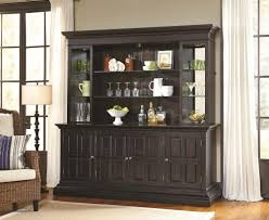 burton back bar in dark wood by pulaski home gallery stores