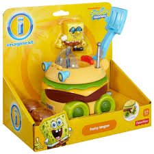 imaginext spongebob squarepants krabby patty wagon walmart com