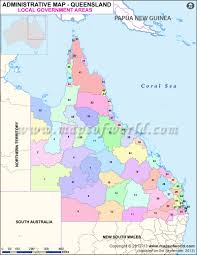 New York Ski Resorts Map by Queensland Local Government Areas Map