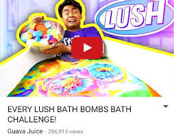 Challenge Lush Check Out Guava Juice For A New Bath Challenge Lush Bath Bombs