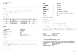 Ece Sample Resume by Basic Resume Template Free Resume Templates Download Simple