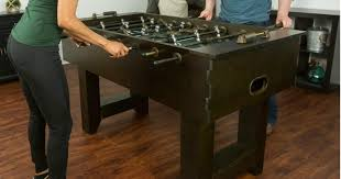amazon com foosball table amazon eastpoint foosball table only 141 23 shipped regularly