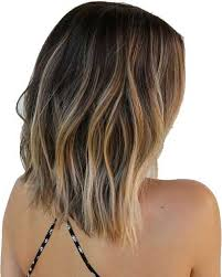 front and back views of hair styles bob ombre hairstyle for wavy long hair with back view and