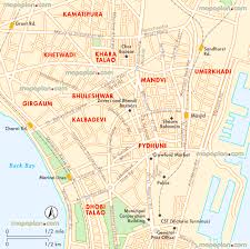 Mumbai India Map by Mumbai Map Mumbai Cst Central Virtual Interactive 3d Map In