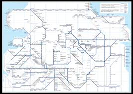 Map Of Northern France by Northern Trains Rail Maps