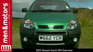 renault scenic 2001 2001 renault scenic rx4 overview youtube