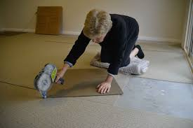 installing eco friendly carpet with geca project series
