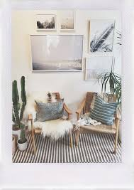 home interiors photo gallery boho chic gallery wall featuring prints and photographs in white