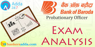 bank of baroda po exam analysis 2017 02nd shift