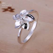 finger ring designs for r130 wholesale 925 silver designer flower finger nail ring for women