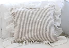 ruffle feminine bedding shabby style ruffled duvet cover pillow