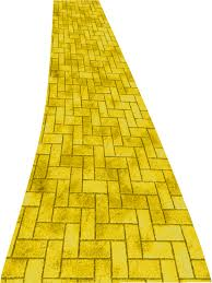 brick paver caigns to follow the yellow brick road or not