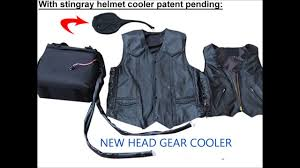 motorcycle vest air conditioned motorcycle vest youtube