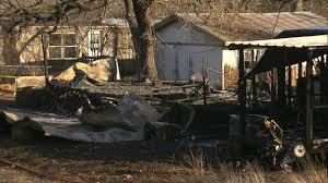 Used Mobile Homes Houston Texas 2 Mobile Homes Catch Fire In Azle Cbs Dallas Fort Worth