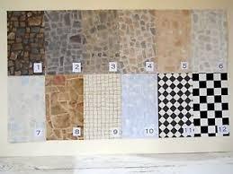 fabulous faux brick tile vinyl floors for diorama rooms