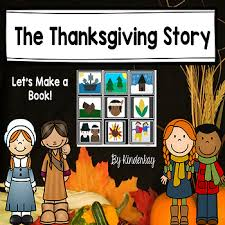 the thanksgiving story then and now for by kinderkay