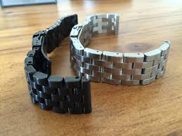 solid stainless steel bracelet images Review pebble time steel 3rd party bands and straps time JPG