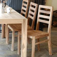 Solid Teak Dining Table Dining Room Extraordinary Image Of Dining Room Decoration Using