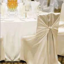 White Banquet Chair Covers Bob B U0027s Party Rentals Chair Covers