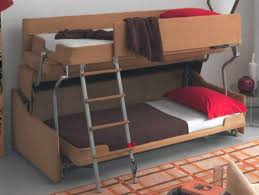 double bed sofa sleeper space saving sleepers sofas convert to bunk beds in seconds