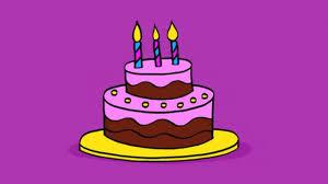 Apprendre à dessiner un gâteau danniversaire  How to draw a