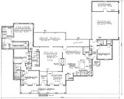 dimensioned floor plan grand front porch 14103kb architectural designs house plans
