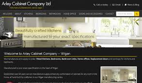 kitchen and bedrooms website wn6 creative wigan web design
