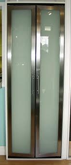 Slimfold Closet Doors Imposing Decoration Metal Bifold Closet Doors Bright Inspiration