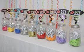60th birthday party decorations 60th birthday decoration available in 9 colors 60th candy