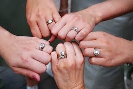 mens rings finger images Wearing two rings articles easy weddings jpg