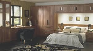 Bandq Bedroom Furniture Shaker Walnut Style Modular Bedroom Furniture System