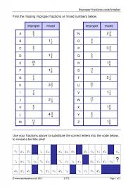 types of fraction worksheets whats new pinterest mixed numbers and