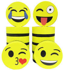 amazon com emoji magnetic whiteboard erasers set of 12 for dry