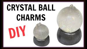 crystal ball charms diy project halloween craft craft klatch