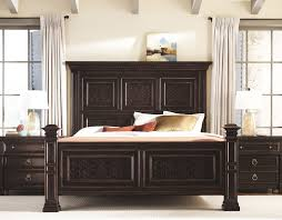 Bedroom Sets Norfolk Va Pacific Canyon Panel Bed And Nightstands Bernhardt Home Master