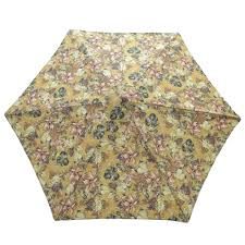 Floral Patio Umbrella 9 Ft Wood Patio Umbrella In Promo Floral 9952 01240000 The Home