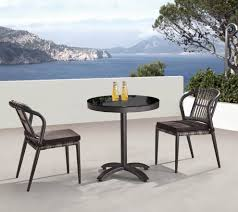 Small Bistro Table Kitaibela Armless Dining Set For Two With Small Bistro Table