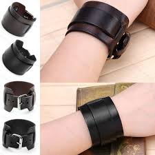 leather bracelet cuff women images Male wristbands stacha styles jpg