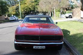 camaro for australia 1968 chevrolet camaro rs 327 convertible rhd alex