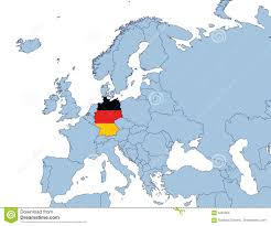 germany europe map map germany europe major tourist attractions maps