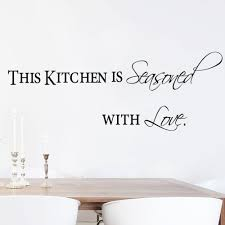 Dining Room Quotes This Kitchen Is Seasoned With Love