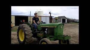 john deere 2130 start up youtube