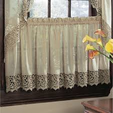 bali isle macrame sheer voile tier window treatment bali window
